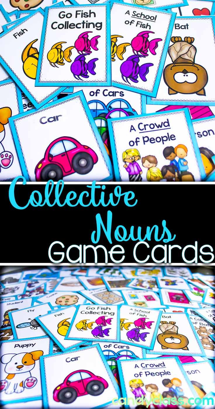 Collective Noun Game - Go Fish Collecting | ✽✤The Candy Class ...