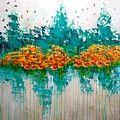 Beautiful Abstraction Painting by Julie Janney
