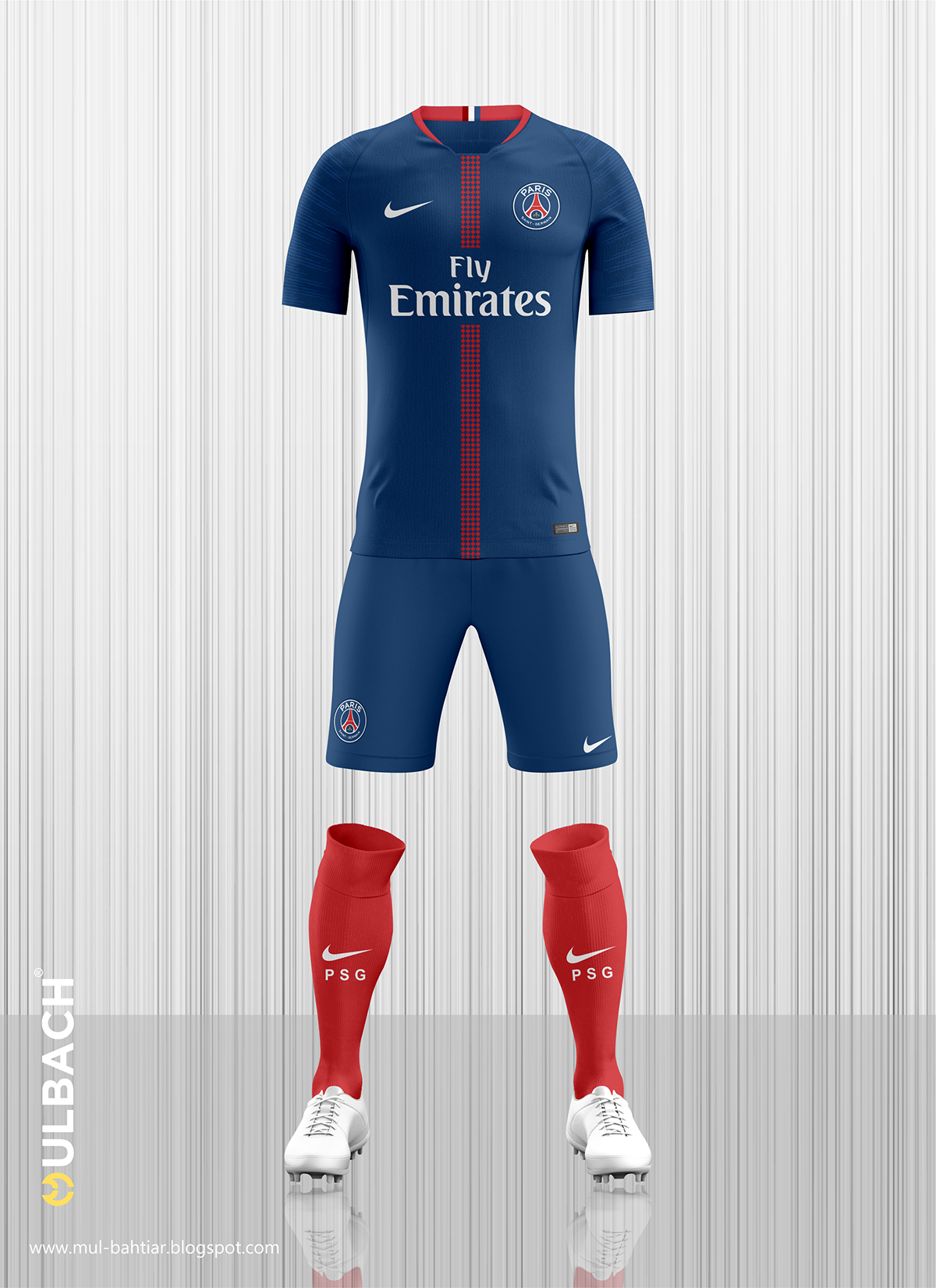 the latest e2028 a6235 PSG 2018/2019 Kit Concept on Behance | Jersey DEsigns | Psg ...