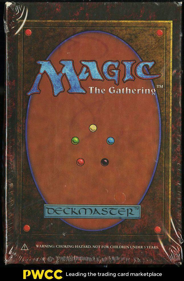 1994 Magic The Gathering MTG Revised Factory Sealed Gift