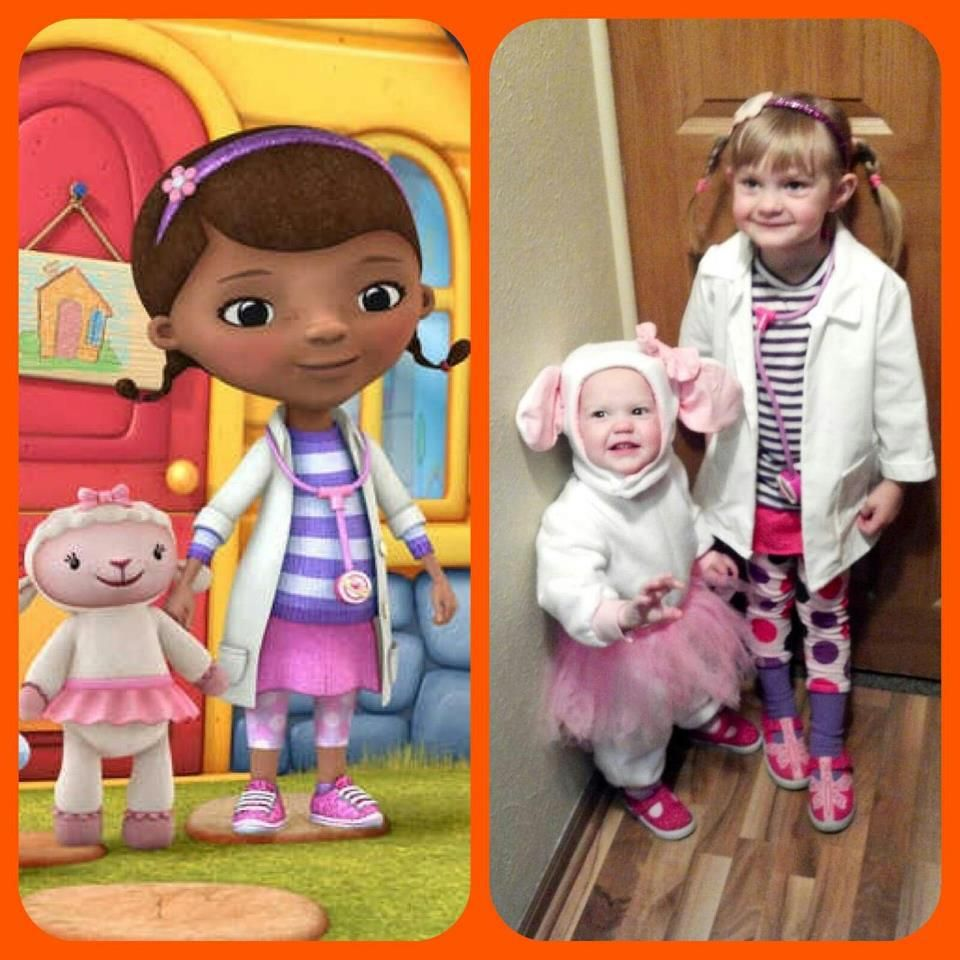 Luxury Doc Mcstuffins Lambie Costume Adults
