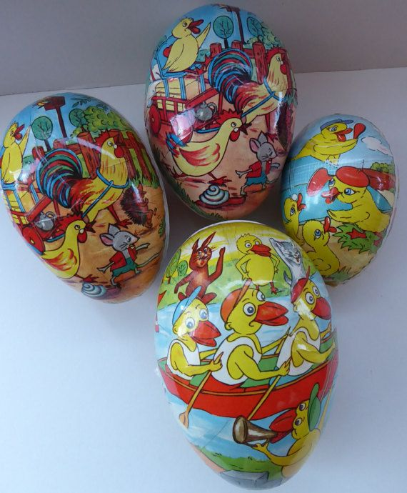 These Are Very Collectable Little Vintage Easter Eggs The Are