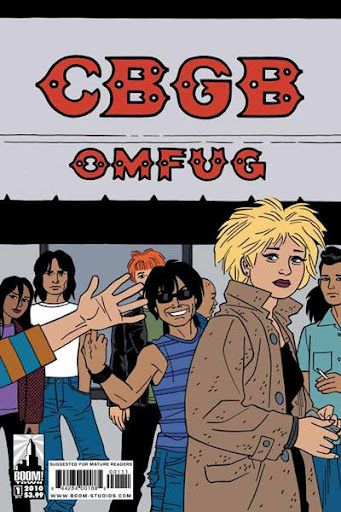CBGB comic. Cover by Jaime Hernandez. Filma: http://azpitituluak.com/euskaraz/1392587162