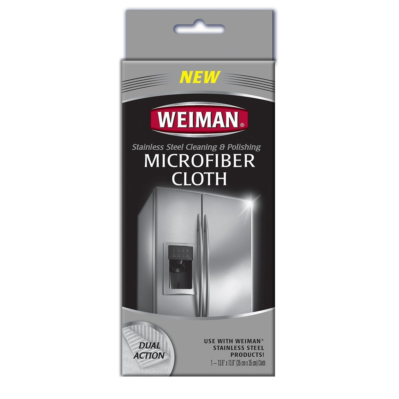 Amazon Com Weiman Microfiber Cloth For Stainless Steel Home Amp