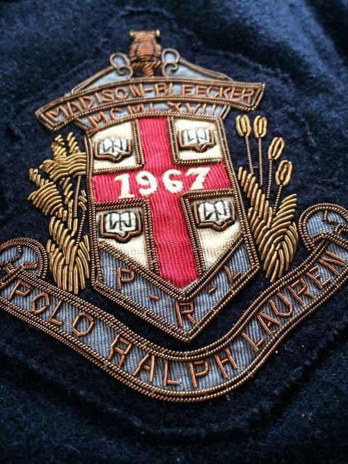 Ralph Lauren blazer patch | Prep in 2019 | Ralph lauren