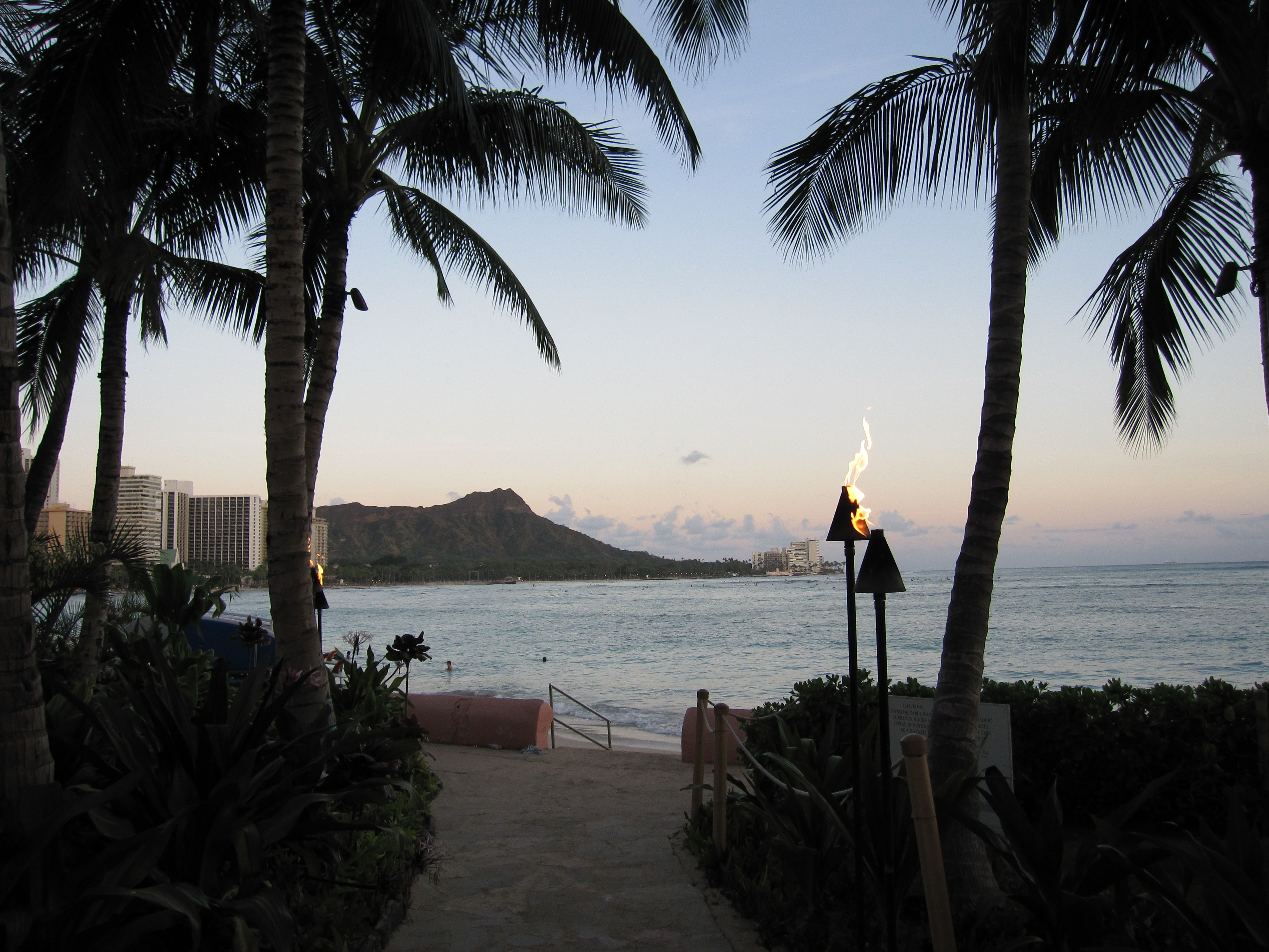 #Hawaii - #WaikikiBeach #DiamondHead