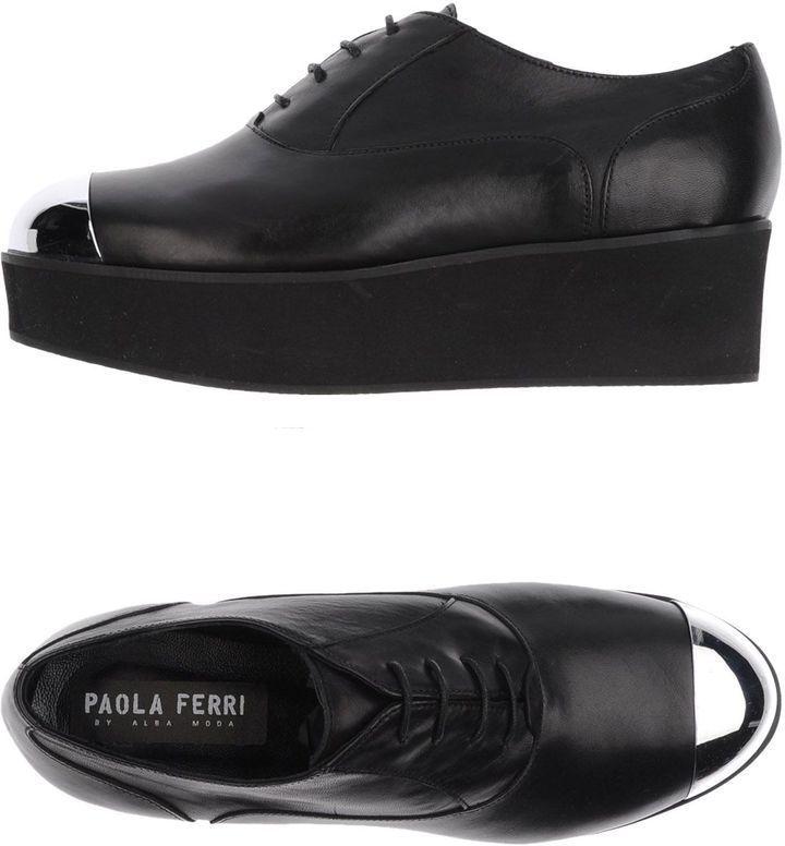 PAOLA FERRI Lace-up shoes