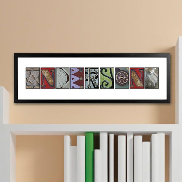 Abstract Modern Urban Alphabet Font: Personalized Urban Alphabet Architectural Name Print