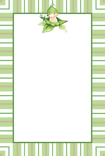Sweet Pea Baby Shower Printable Invitations Baby Shower Party