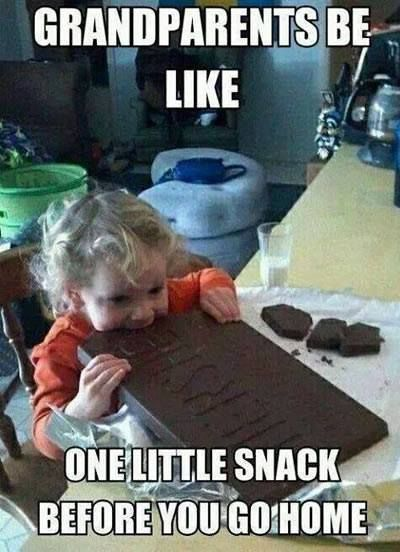Latest Funny Kids Baby naming nightmares and kids crying in restaurants: the best in parenting moments this week Grandparents be like just one little snack! (Click for Bundoo's best parenting moments of the week). 5
