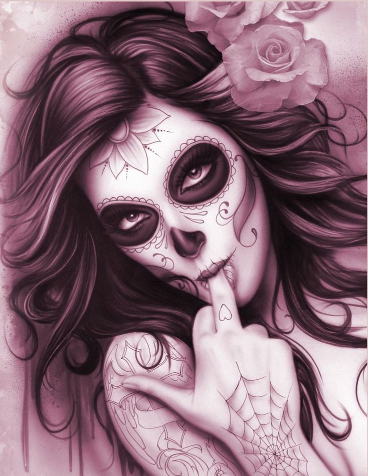 Favorito Best Tattoo Trends - Day Of The Dead Pin Up Girl Tattoo Design  NR52