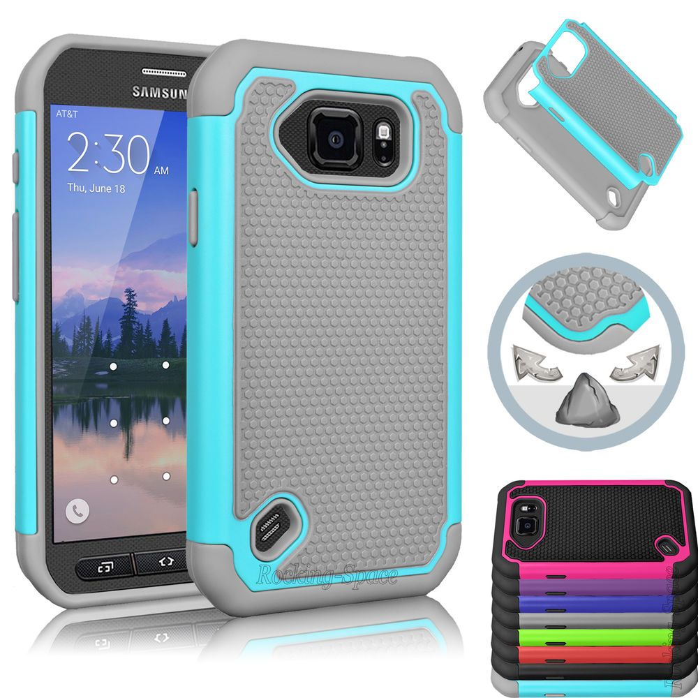 huge selection of 2ff29 35d4a Details about Film + Hybrid Rugged Rubber Hard Case Cover for ...