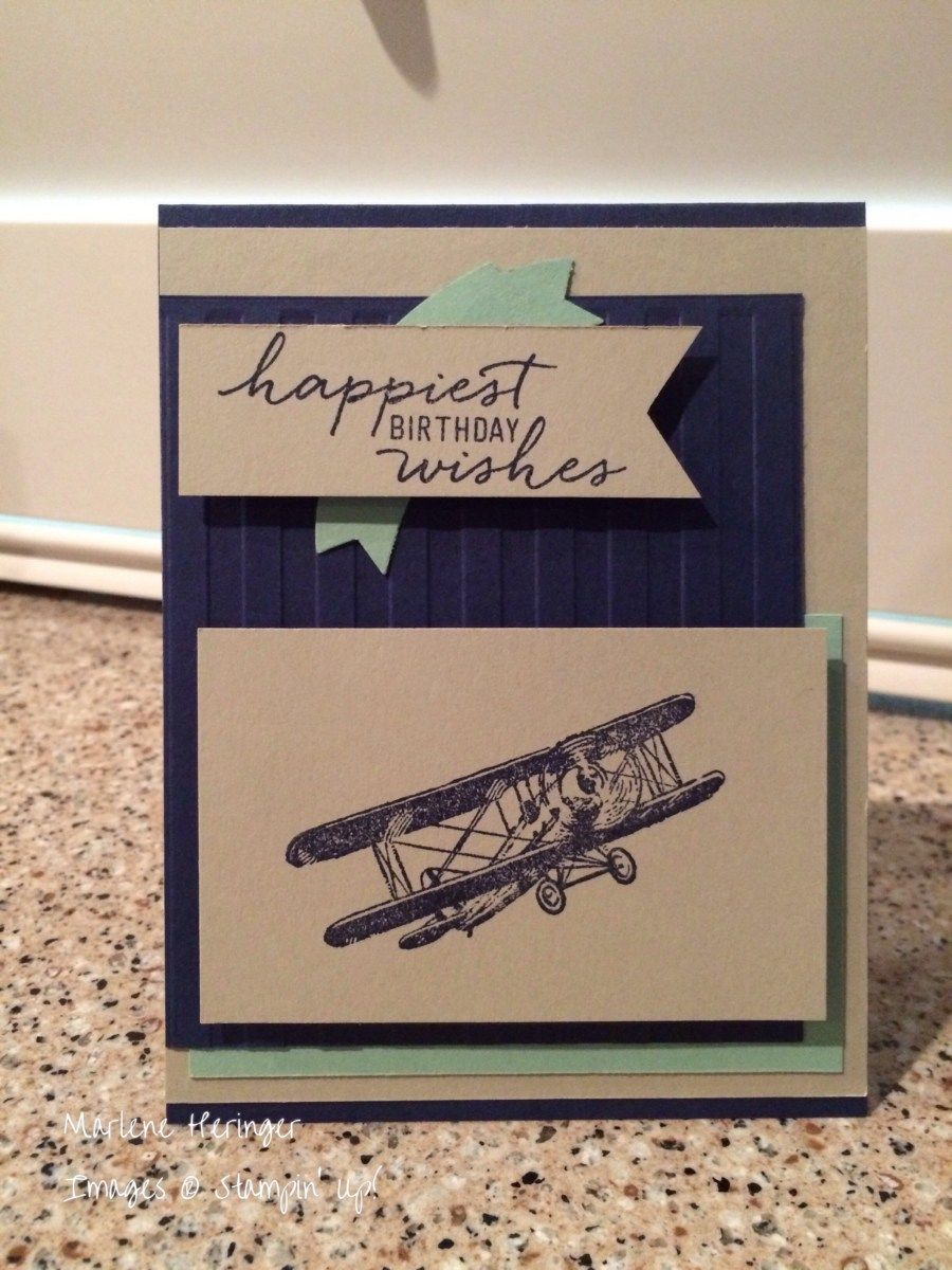 Hello Stampers! Here in soggy San Antonio, it's been great stamping weather. Unless you have boat or kayak. Then it's great boating weather. This week, I created a masculine birthda…