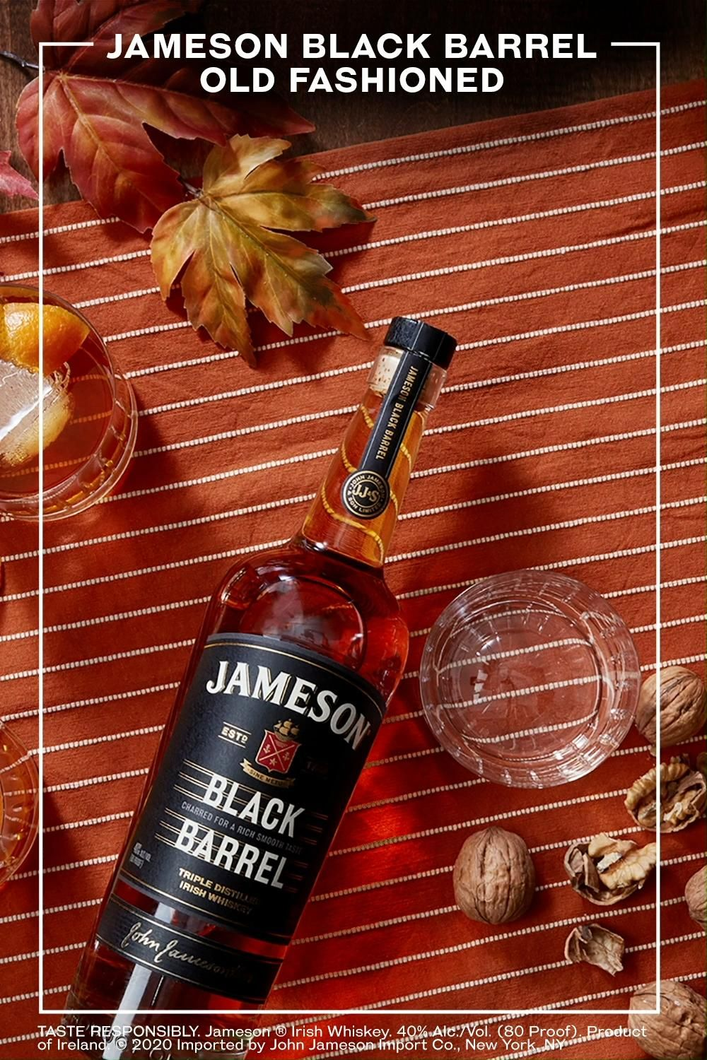 Jameson Old Fashioned Video In 2020 Whiskey Cocktails Jameson The Fool
