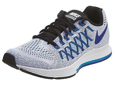 on sale a8346 4224b Nike Air Zoom Pegasus 32 Womens 749344-100 White Blue Mesh Running Shoes Sz  7
