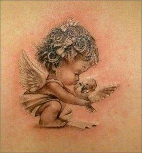 Sleeping Baby Angel Tattoos Google Search Beautiful Angel Tattoos Angel Tattoo For Women Angel Tattoo Designs