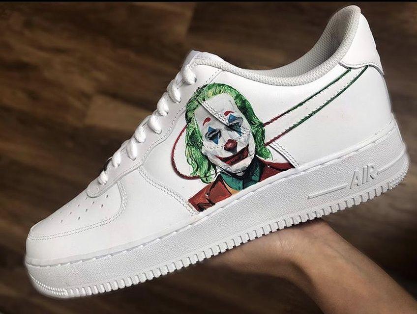 custom joker air force 1
