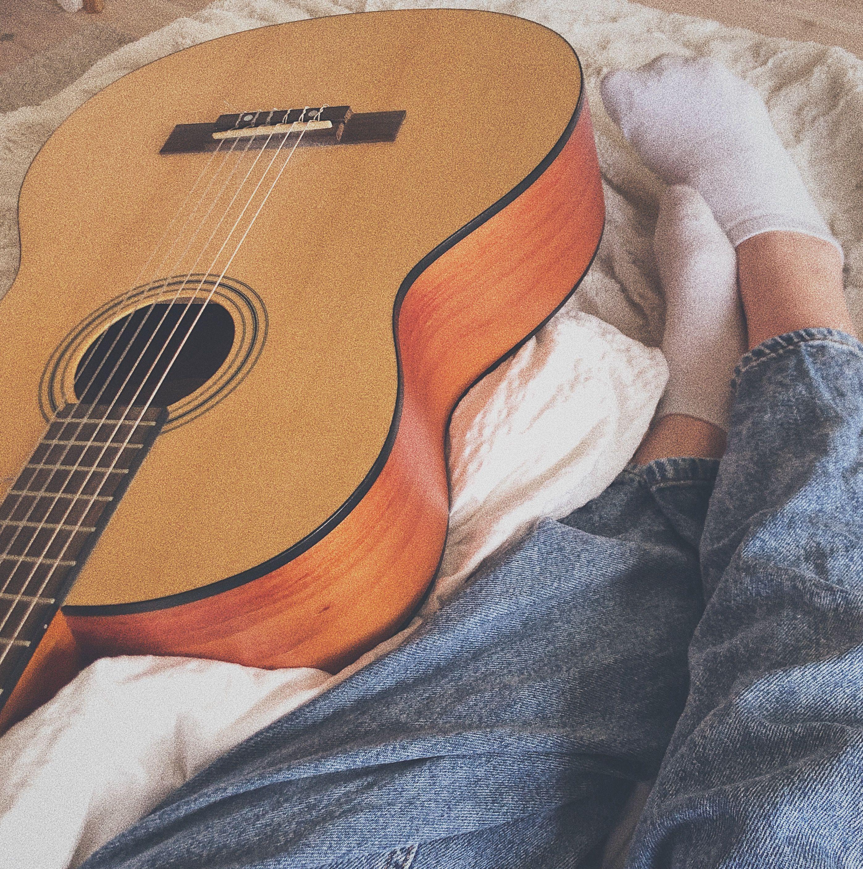 Acoustic Guitar Aesthetic Photo Acoustic Guitar Photography Acoustic Guitar Guitar
