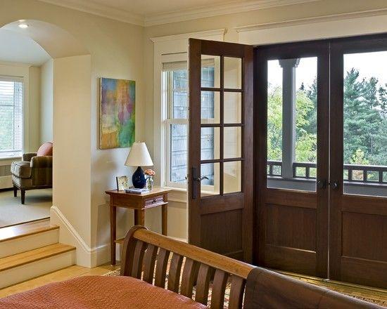 recessed front door ideas door matching screen door chateau mulaneaux pinterest