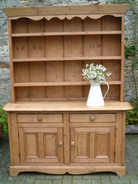 Antique Pine Furniture Dresser