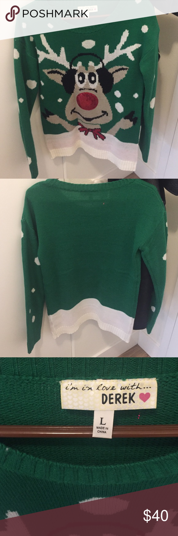 Ugly Christmas Sweater From Nordstrom. Work 2-3 times! Great ...