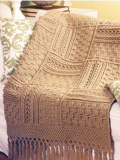 Aran Afghans to Crochet   blankets crochets   Pinterest