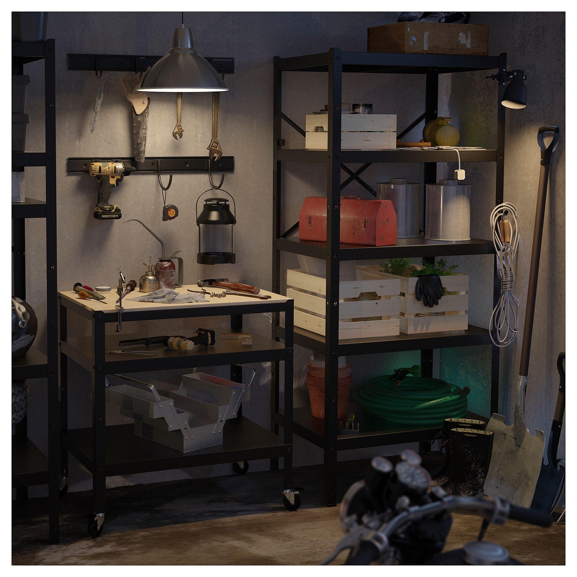 new style f13a3 f649f IKEA - BROR Shelving unit black | The farm in 2019 | Shelves ...