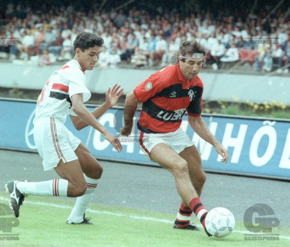 André Luiz (São Paulo) x Renato Gaúcho (Flamengo