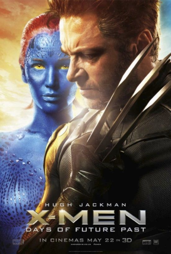 X Men Days Of Future Past Character Posters Feature Magneto Mystique And Wolverine Days Of Future Past X Men Man Movies