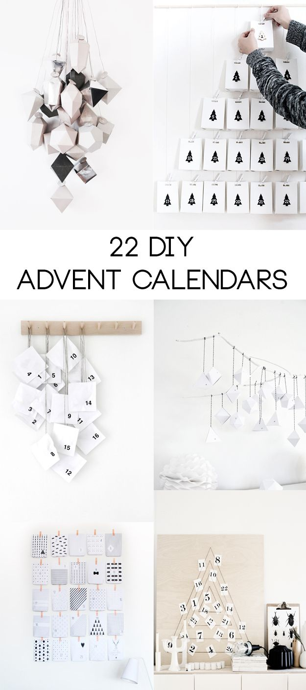 22 diy advent calendars hungry heart diy do it yourself 22 diy advent calendars hungry heart solutioingenieria Images