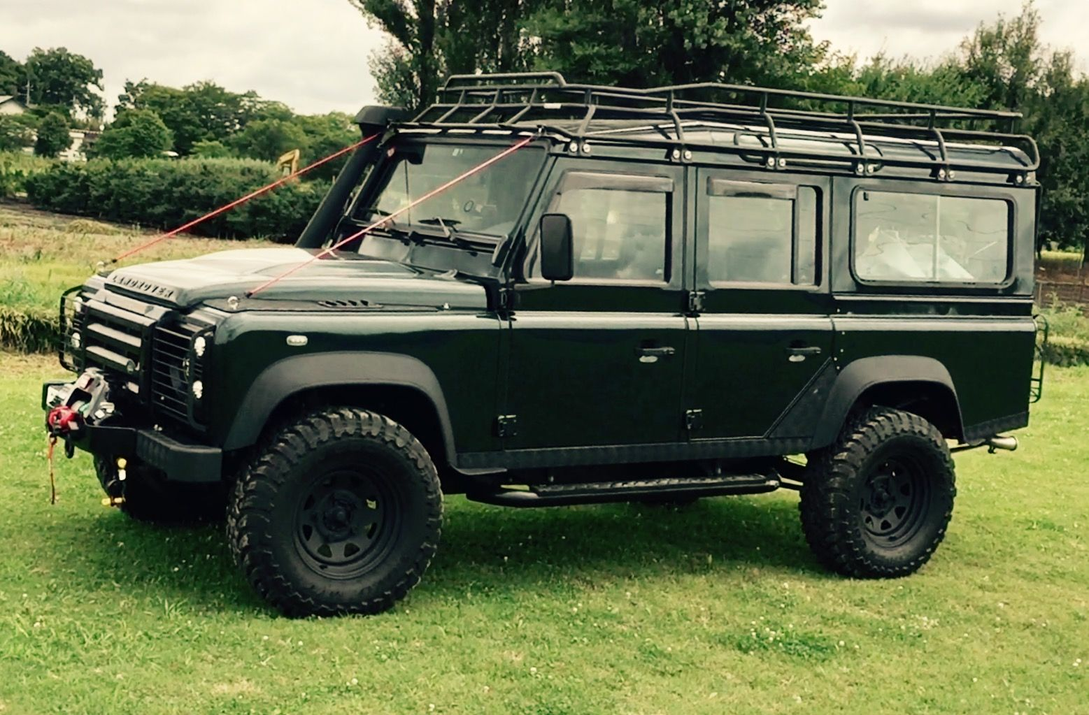 Mobile Home in Land Rover Defender