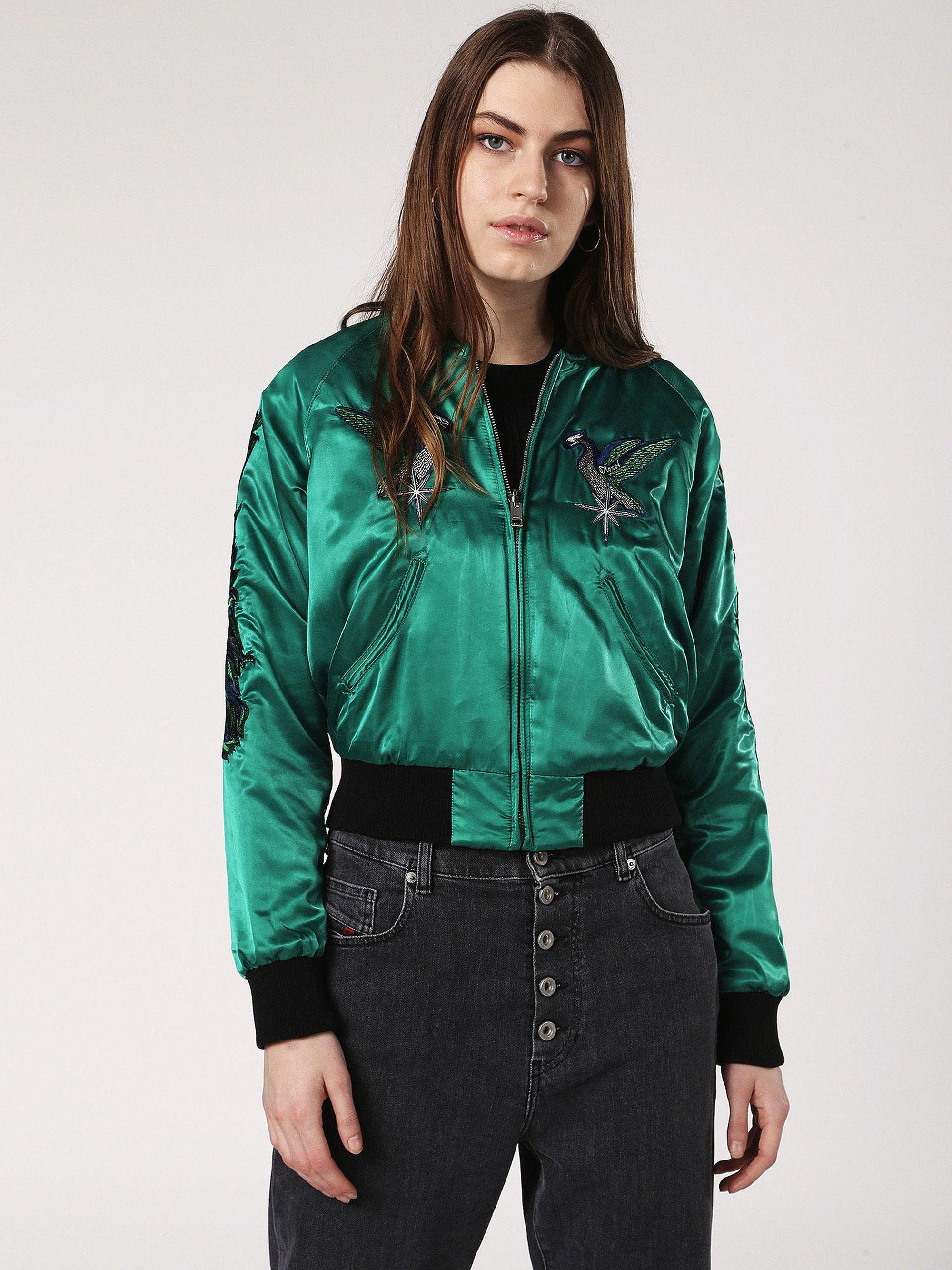 G Absol M Jacket Woman Diesel Online Store Coats For Women Diesel Jacket Coats Jackets Women [ 2667 x 2000 Pixel ]