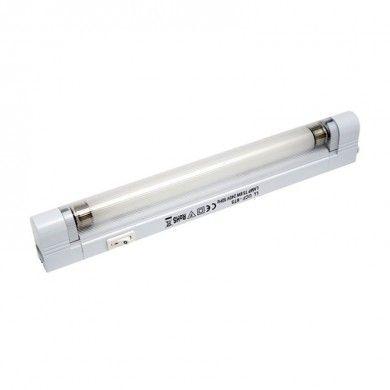 8w T5 Fluorescent Under Cabinet Kitchen Link Light C W Leads