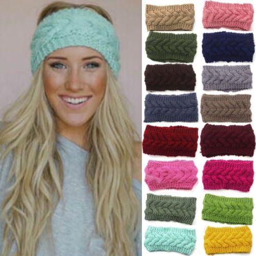 Winter-Women-Ear-Warmer-Headwrap-Fashion-Crochet-Headband-Knit ...