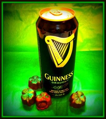 The Luck of the Irish brought back our delicious Guinness Truffle. Limited time only.
