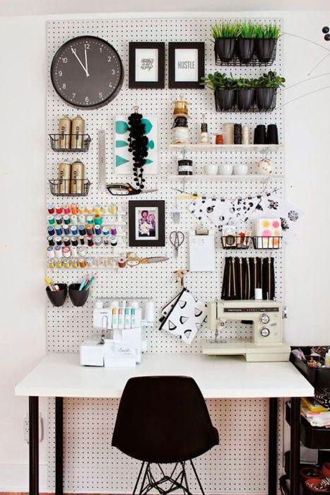 Organize e decore o seu atelier