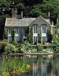 Gregarth Hall,Caton nr Lancaster UK the estate is the showplace of the award winning garden designer Arabella (Lady)Lennox- Boyd