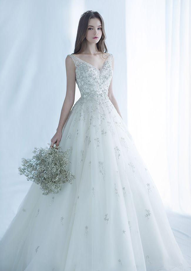 This magical glittering gown from Monica Blanche i