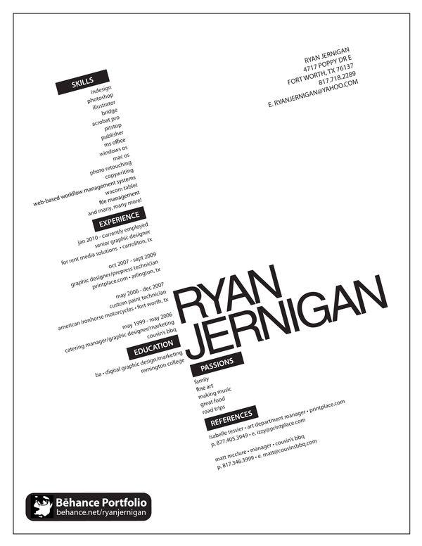 Pin by Yervand Sarkisyan on Resume | Creative cv, Cv ...