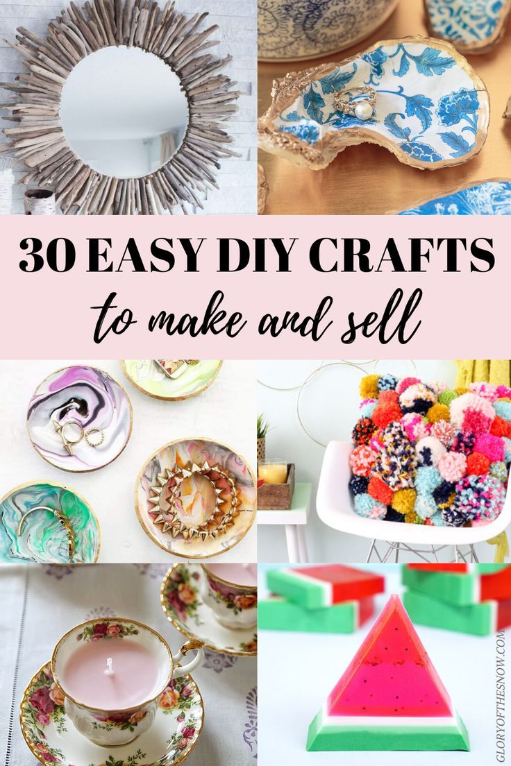 Easy Things To Make And Sell For Money: The Most Profitable DIY Crafts