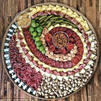 Craze sweeps social media for artistic cheese and charcuterie plates #charcuterieboard