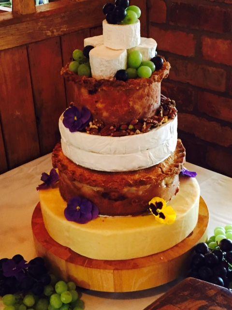 Cheese And Pie Savoury Alternative Wedding Cake Venue Jinney Ring Craft Centre Worcestershire
