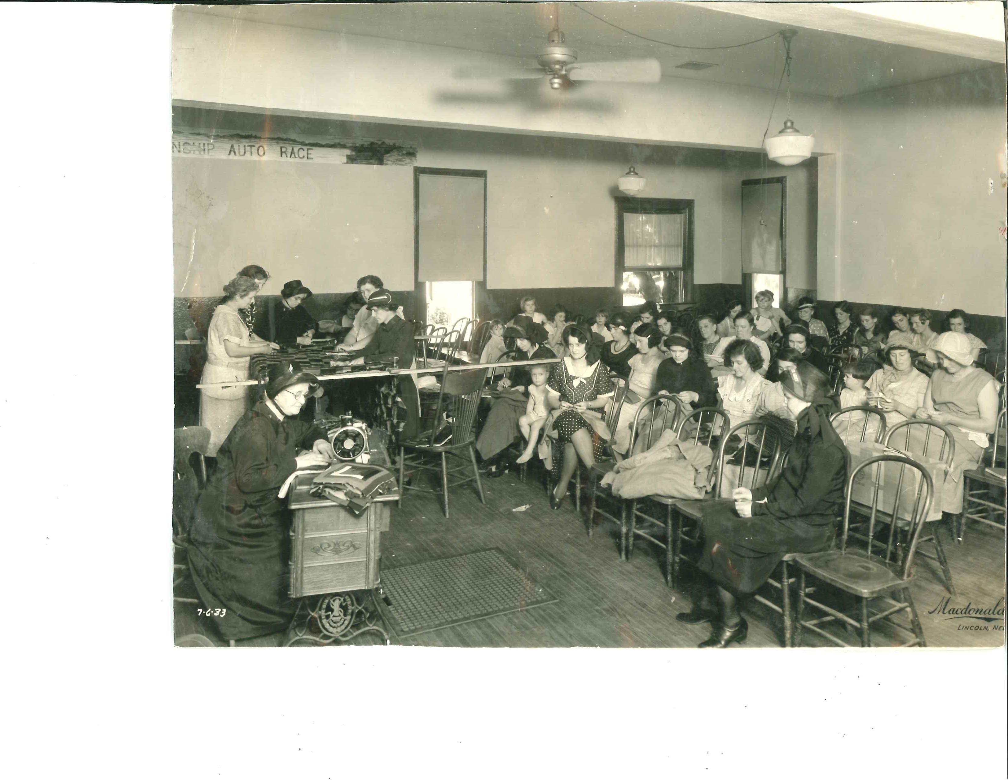 Lincoln NE The Home League circa 1933 Salvation army