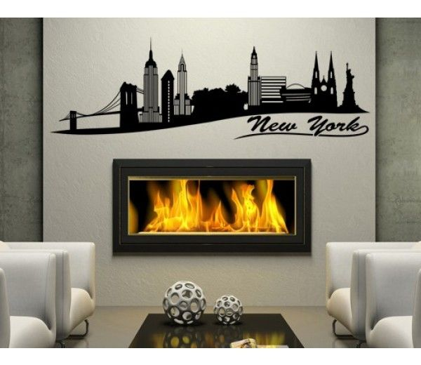 New York . . . Wall Decal | New York City Wall Decals ...