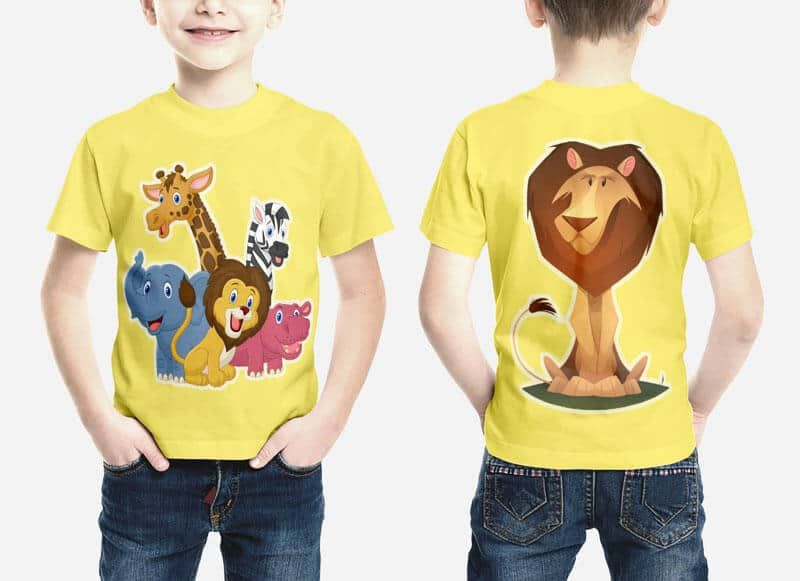 Download Kids Shirt Mockups Free To Download On Vectogravic Design Kaos Desain