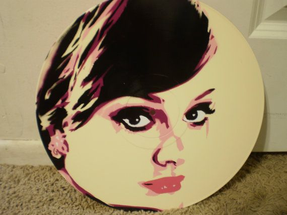 Adele On Record By AlexColejr On Etsy, $22.99 Https://www