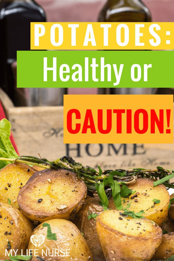 Are potatoes healthy or something to warrant caution