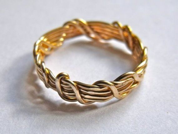 Golden wedding band ceremony substitute wire wrapped by sandijagt golden wedding band ceremony substitute wire wrapped by sandijagt 1100 publicscrutiny Image collections
