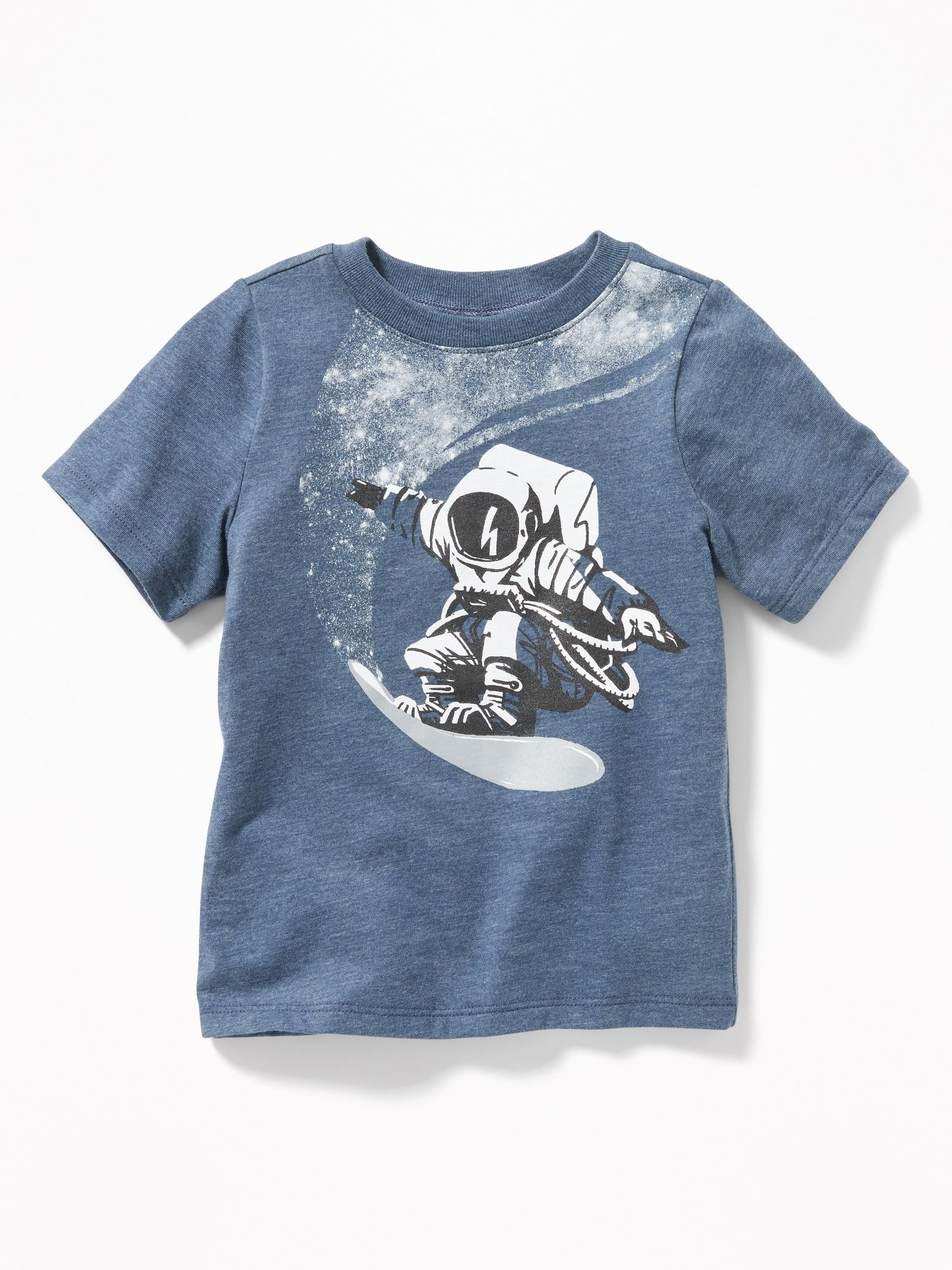 94c1488e01807 Graphic Crew-Neck Tee for Toddler Boys in 2019