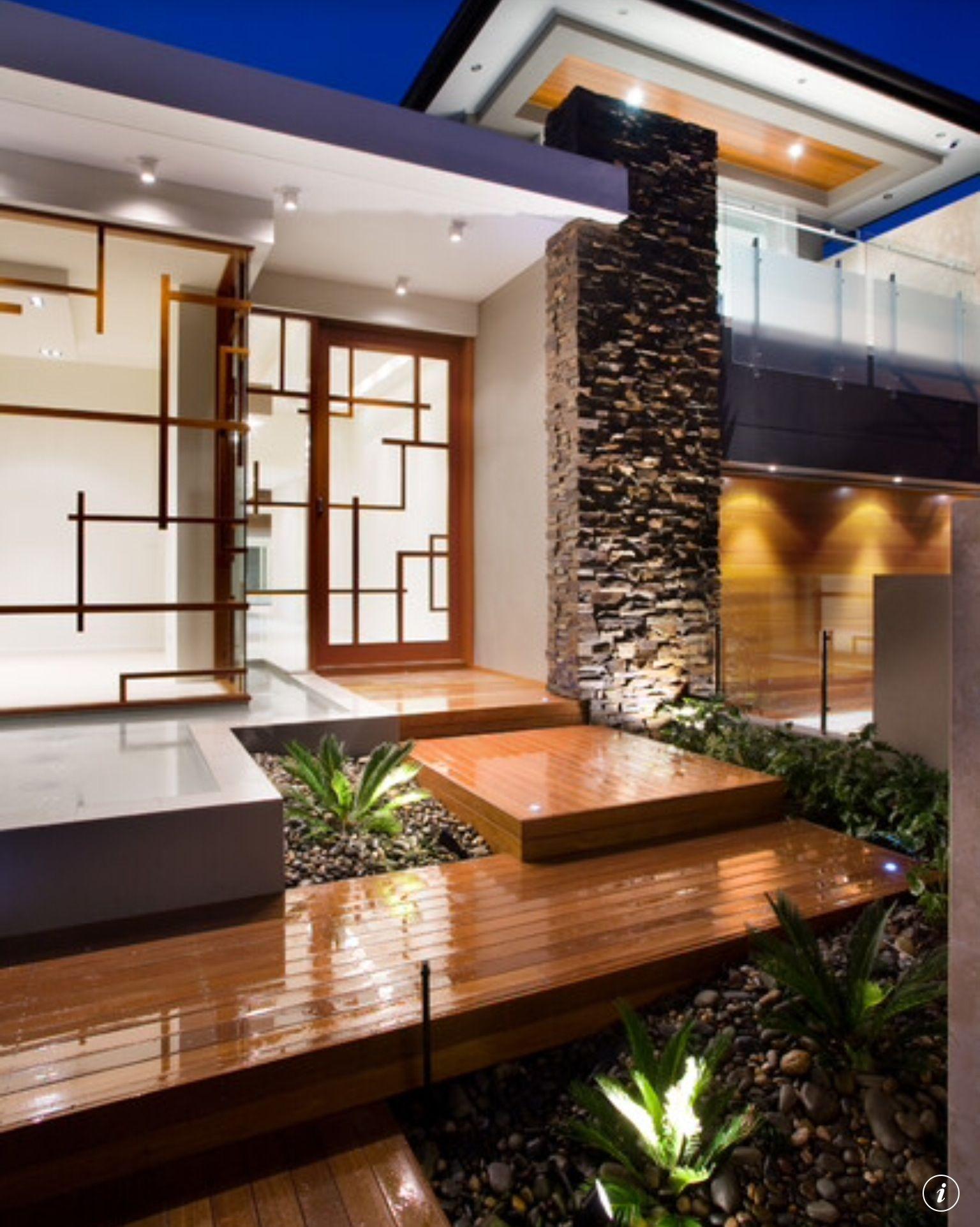 Stili Di Case Moderne.Pin By Hena Fazal On House Plan Pinterest Arredamento